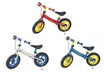 """MONZ Kids walking wheels Mini Viper 12"""" Aluminum frame from 3 years,Vehicle,Red"""