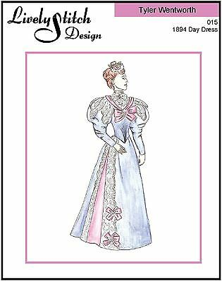 1894 Day Dress / sewing pattern for the Tyler Wentworth doll by Tonner