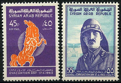 Syria 1962 SG#770-1 Evacuation Of Foreign Troops MNH Set #D33925