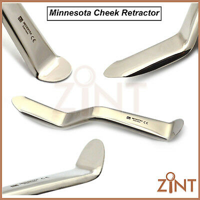 Minnesota Cheek Retractor Tongue Depressor Tongue Surgical Mucoperiosteal Flaps