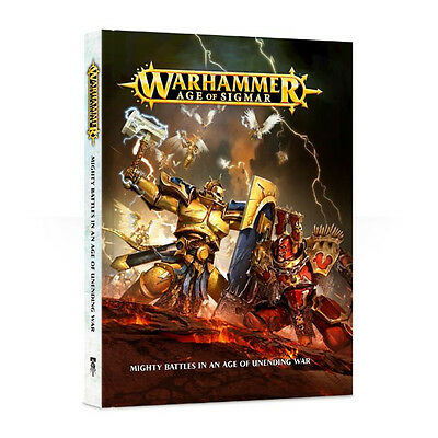 Warhammer Age Of Sigmar Mighty Battles In An Age Of Unending War Book New