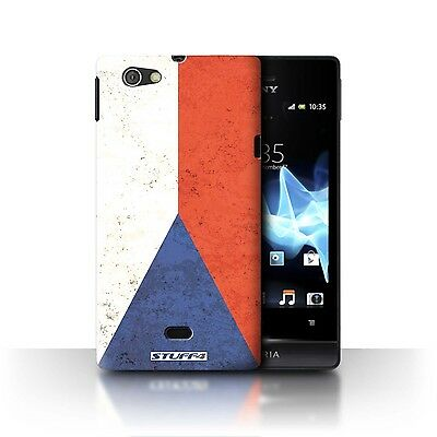 Case/Cover Sony Xperia Miro/ST23I / Flags / Czech Republic