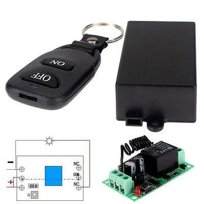 DC 12V 10A Relay 1CH Wireless RF Remote Control Switch Transmitter + Receiver GT