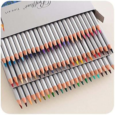 Marco 72 Colors Art Drawing Oil Base Non-toxic Pencils Set For Artist Sketch GT~