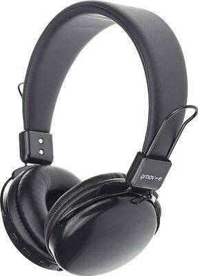 Groov-e Rhythm Wireless Bluetooth / Wired Headphones | Black