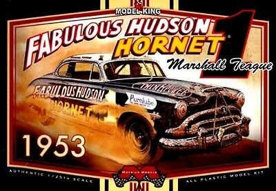 Moebius Models [MOE] 1:25 1953 Teague Hudson Hornet Model Kit 1206 MOE1206