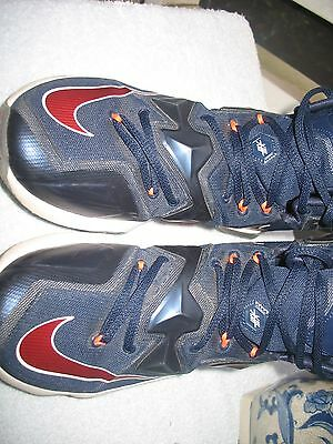 cc6806d8276 Nike Lebron James X111 Usa Omympic Basketball Shoes 807219-461 Size 8.5 Rare