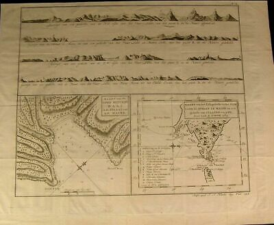 Good Success Bay Tierra Del Fuego South America 1794 rare antique Dutch map