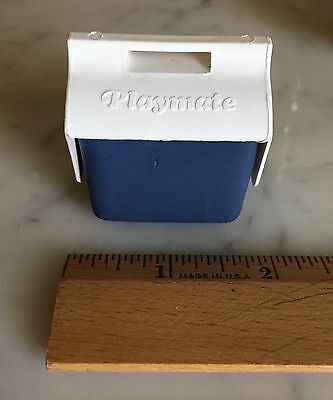 Vintage Miniature Playmate Cooler Toy Candy Container Dollhouse Size