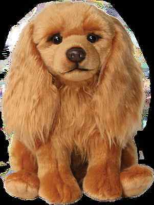 "Cavalier King Charles Ruby 12"" Faithful Friends Soft Toy Beat The Price Rise"