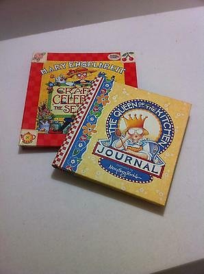 Mary Engelbreit Crafts To Celebrate & Queen Of Kitchen Journal 2 Books