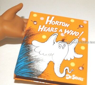Dr.Seuss What Pet Blank Book 18 in Doll Clothes Accessory Fits American Girl #A
