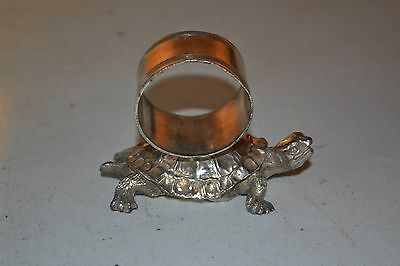 Turtle Figural napkin Ring, Pairpoint