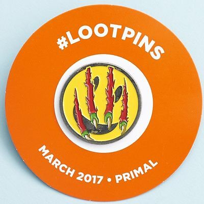 LootCrate EXCLUSIVE Smiley Loot Pin March 2017 Primal LOOT CRATE