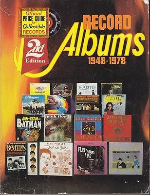 Official Record Collectors Price Guide for Record Albums 1948 - 1978 2nd Edition