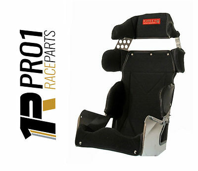 Kirkey Full Containment Race Seat with Seat Cover Car Speedway Drag Rally Racing