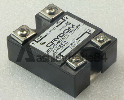 1PCS CRYDOM D4850 DC 3-32V to AC 24-480V 50A Solid State Relay new