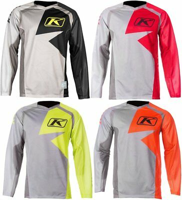 Klim Mens Mojave Ventilated Padded MX Offroad Textile Jersey