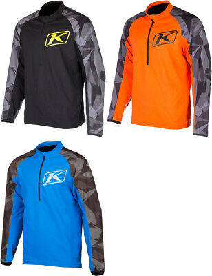 Klims Mens Revolt Wind-Resistant Snowmobile Pullover Windbreaker