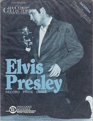 Original Record Collectors Price Guide for Elvis Presley. 2nd Edition