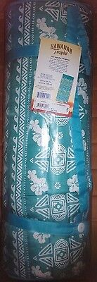 New with tags / Hawaiian Tropic Beach Mat / roll-up mat with pillow/ blue print