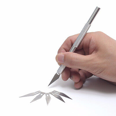 1Set Mini Handmade Embroidery Paper-cut Carving Knife Tool for Mould Making
