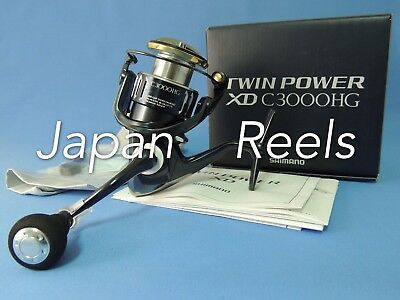 17 New Shimano Twin Power Xd C3000Hg C 3000 Hg Spinning Reel *1-4 Days Delivery*