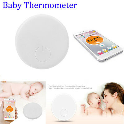 Wireless Thermometer Kids Baby Body Temperature Smart Bluetooth Healthy Monitor