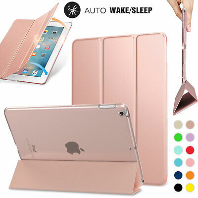For Apple iPad Air 9.7 2018 / 2017 Smart Slim Magnetic Leather Stand Case Cover