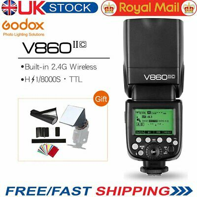 Godox Ving V860II V860II-C E-TTL HSS Li-ion Battery Speedlite Flash for Canon
