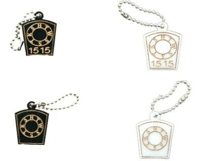 MASONIC KEYSTONE KEYRING / BRIEFCASE ID PLAQUE SIGN WITH / WITHOUT YOUR LODGE No