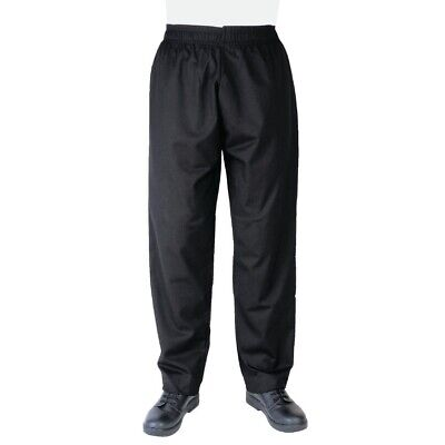 Whites Vegas Chefs Pants Black M BARGAIN