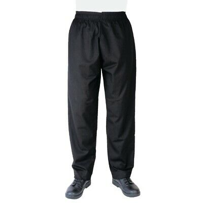 Whites Vegas Chefs Pants Black L BARGAIN