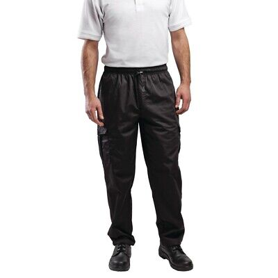 Le Chef Combat Pants Black S BARGAIN