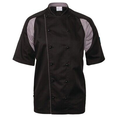 Le Chef Staycool Lightweight Executive Jacket Black XS BARGAIN