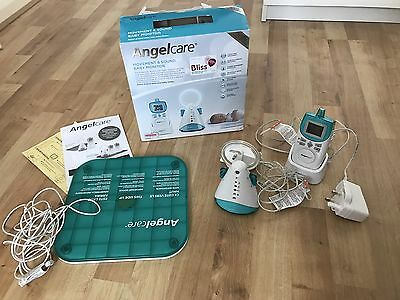 Angelcare AC401 Movement and Sound Baby Safety Monitor with Sensor Pad/Mat