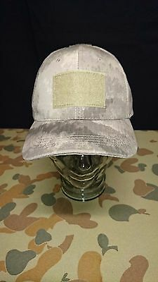 New Atacs Light Brown Green Cap Hat Tactical Military Airsoft Australian Seller
