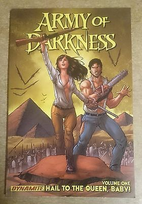 Army Of Darkness Graphic Novel Volume One Hail to the Queen Baby Evil Dead