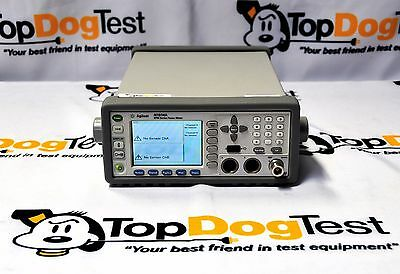 Hp Agilent Keysight N1914A EPM Series Power Meter Dual Channel Opt 105