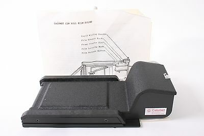 Calumet C2N 120 / 220 Roll Film Back for 4x5 View Cameras - Mint