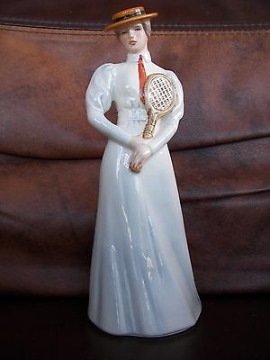 Goebel Figurine - Lady Tennis Player - Centre Court 1903 - Fashion on Parade