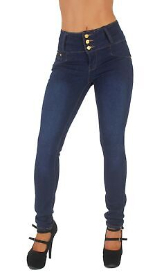 Style G354– Colombian Design, High Waist, Butt Lift, Levanta Cola, Skinny Jeans