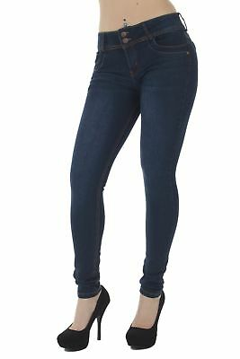 FWG0267P– Plus Size, Butt Lifting, Levanta Cola, Fashion Mid Waist, Skinny Jeans