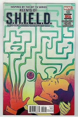 Agents Of Shield #2 - Regular Cover - Marvel Comics - 2016