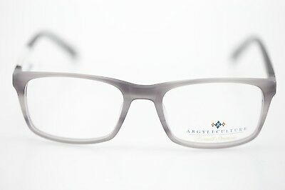 NWT Russell Simmons Argyle Culture Grey Frame Eyeglasses MSRP $ 99.99