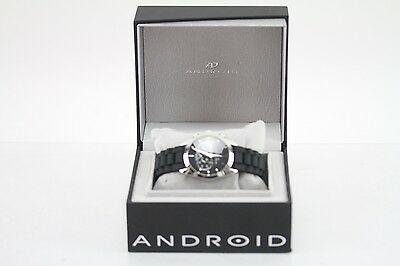 Android Chronograph Quartz Men's Wristwatch AD463 Stainless Steel
