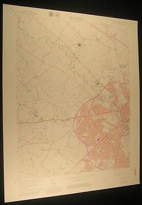 Lexington West KY Little Georgetown 1979 vintage USGS original Topo chart map