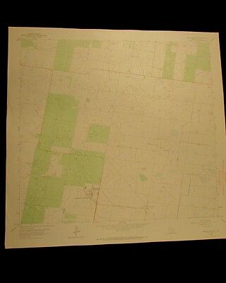 Monte Christo vintage 1965 original USGS Topographical chart
