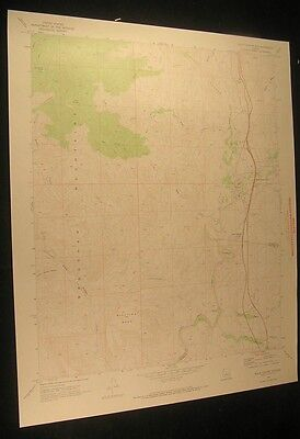 Black Canyon City Arizona Moore Gulch 1973 vintage USGS original Topo chart map