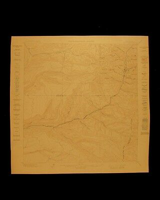 Rico Colorado vintage 1899 original USGS Topographical chart